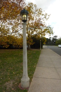 Canberra Lamp Post circa 1927